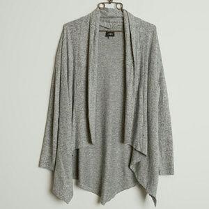 Buckle Daytrip Heathered Cardigan Sweater
